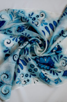 — Silk batik