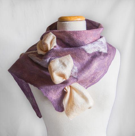 Felting-wearable-art-scarf