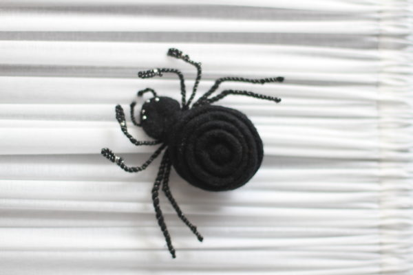 felted spider
