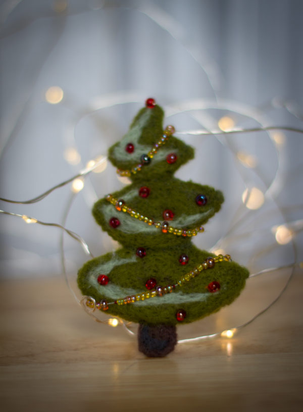 felted tree