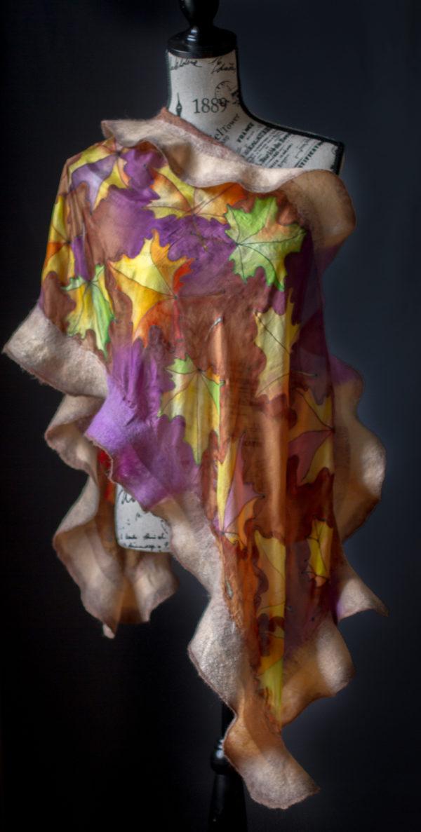 Batik-shawl scarf