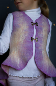 Felted Vest for girls