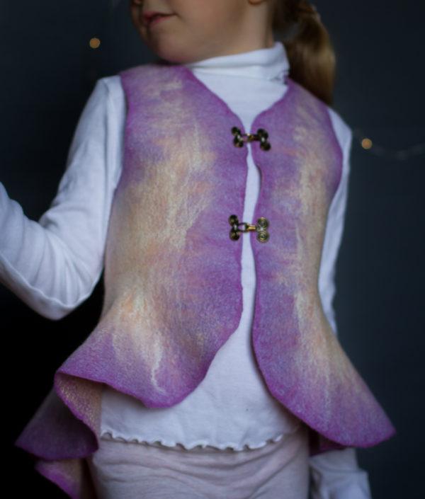 Felted Vest for girls