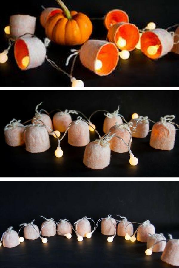 Orange-lanterns