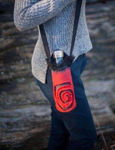 drink holder red unique design