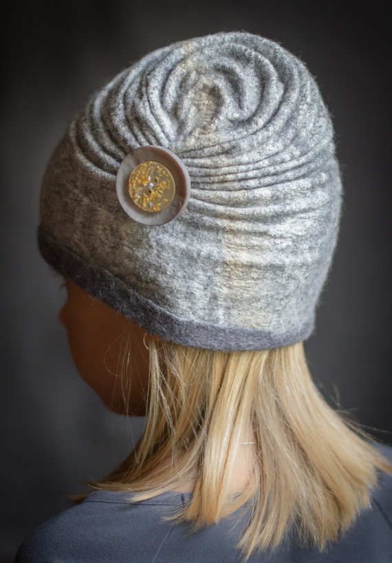 Nuno felted hat