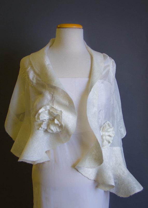 wedding felt scarf