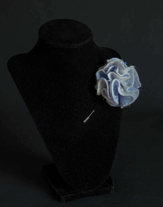 blue stick pin