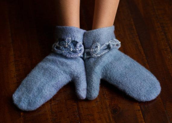 for children Felted mittens