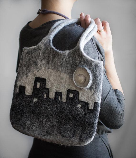 City Skyline Tote Bag