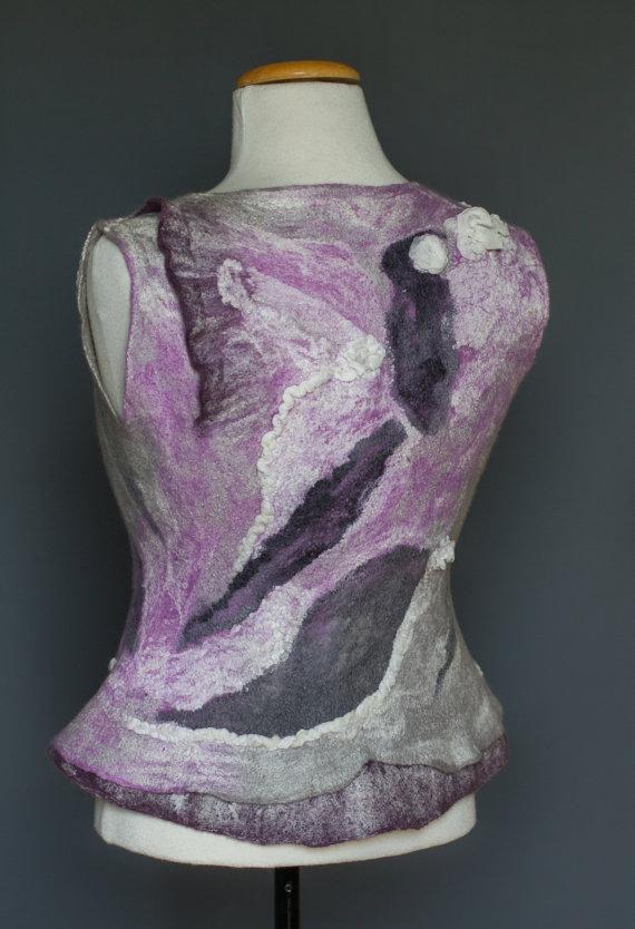 handmade silk merino wool
