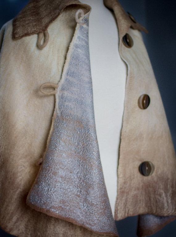 nuno felted clothing