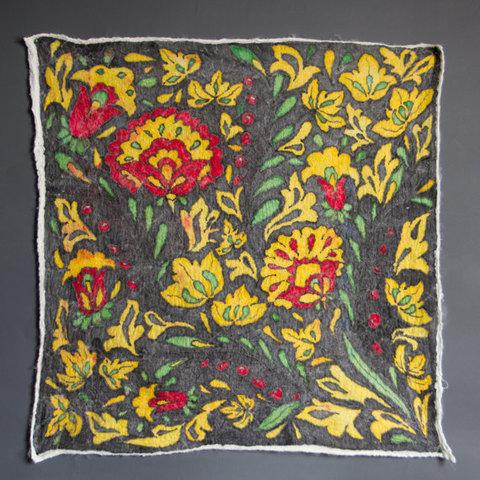 Felted-art-fabric-batik-Khokhloma