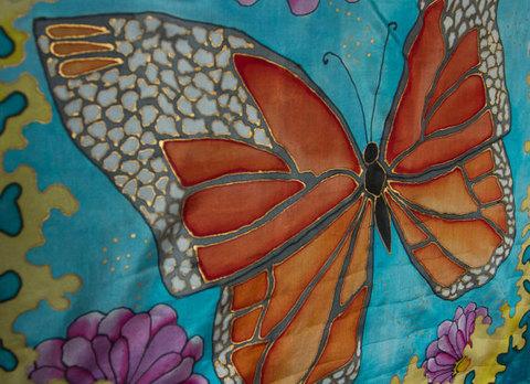 Hand-painted-Silk