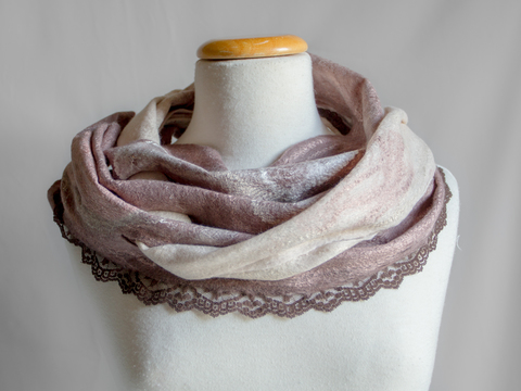 Nuno Felted Scarves