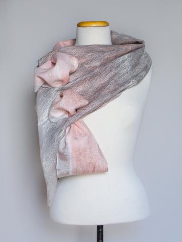 felted wearable multi seasonal scarf