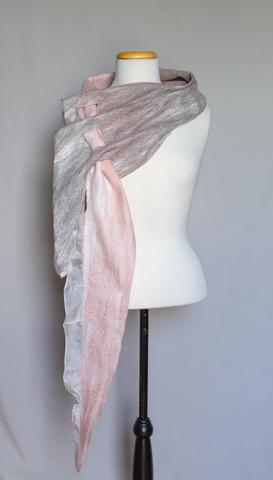 nuno felted wearable multi seasonal scarf