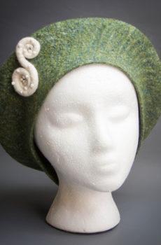 designer felt beret