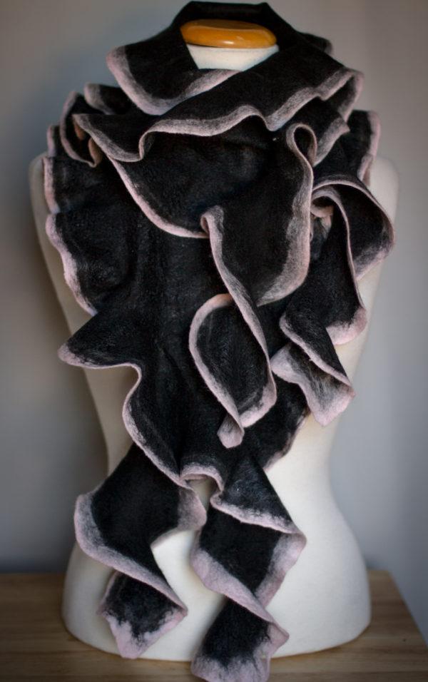 fashion scarf felting