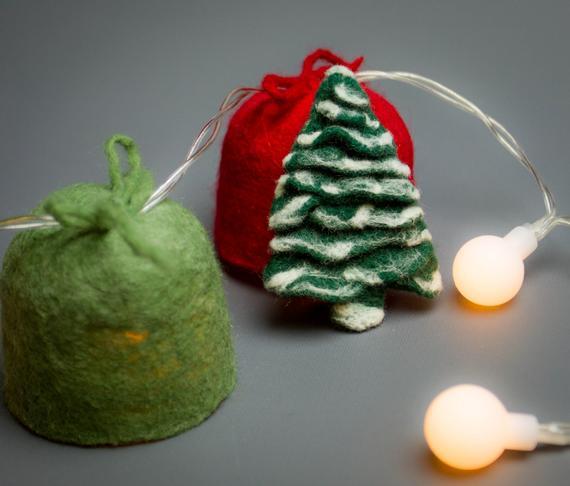 felted Christmas tree