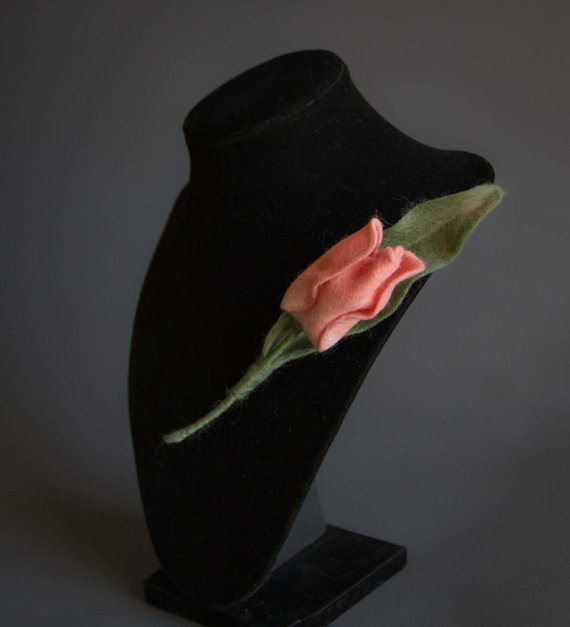 Wool felting Tulip