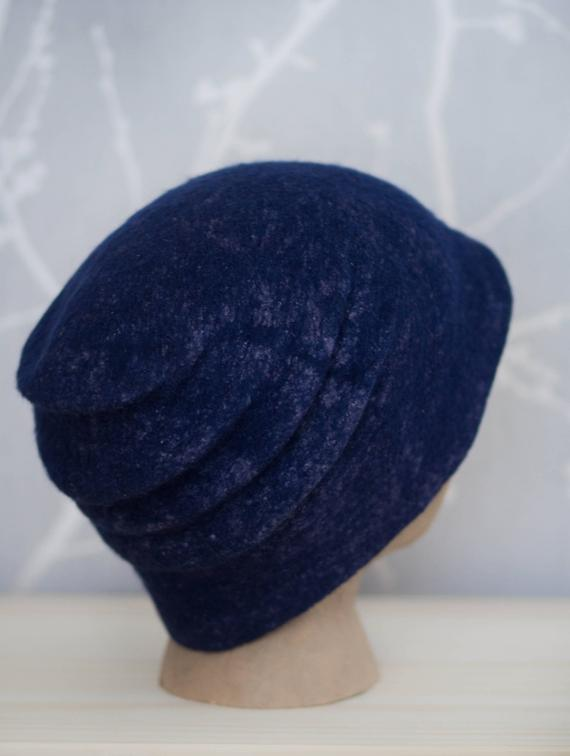 felted hat Slouchy