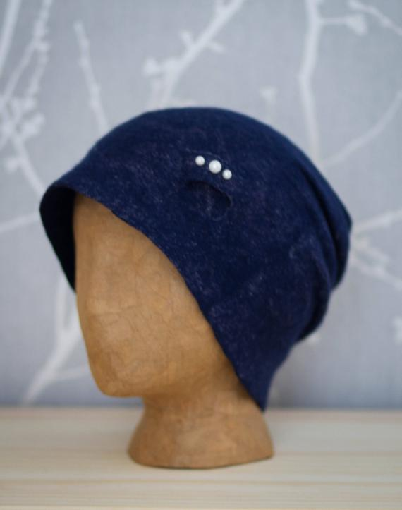 felted slouchy hat